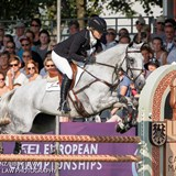 Jonelle Price best of the Kiwis at Aachen CIC03*