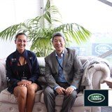 Taiwanese FEI Chairman visits Land Rover HOY