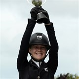 Briar Burnett-Grant wins Young Rider Class at HOY