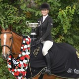 Abby Robinson & Hillman Hunter win Show Hunter of the Year