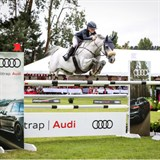 Annabel Francis and Carado GHP flying to victory
